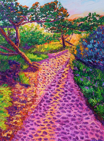 Walk With Me. 18x24. Oil on Canvas. Eryn