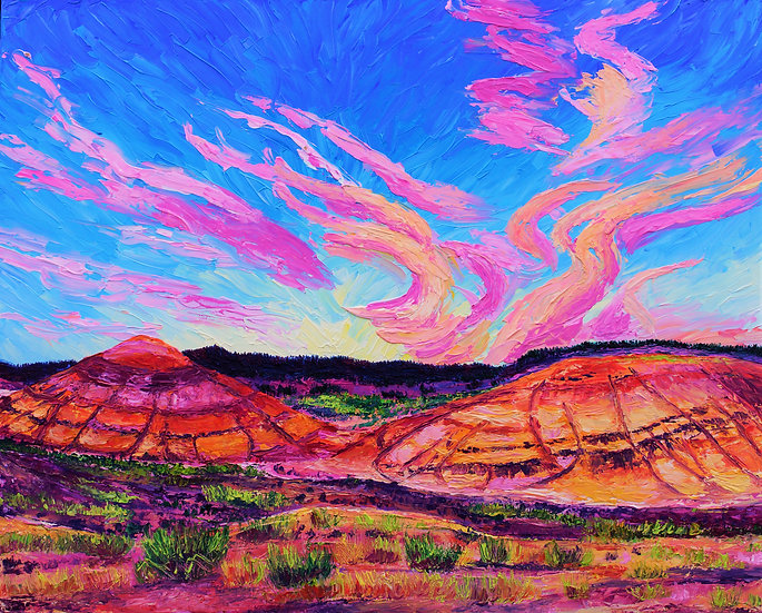 """The Painted Hills"" Fine Art Print"
