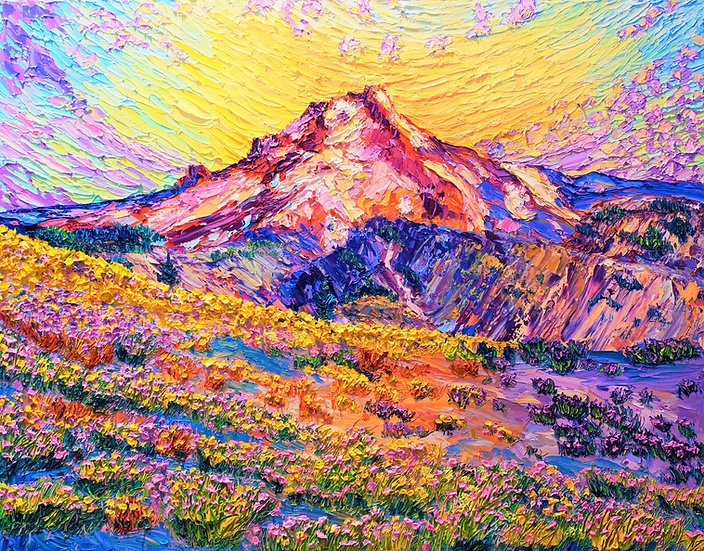 """Rising Ground"" Fine Art Print"