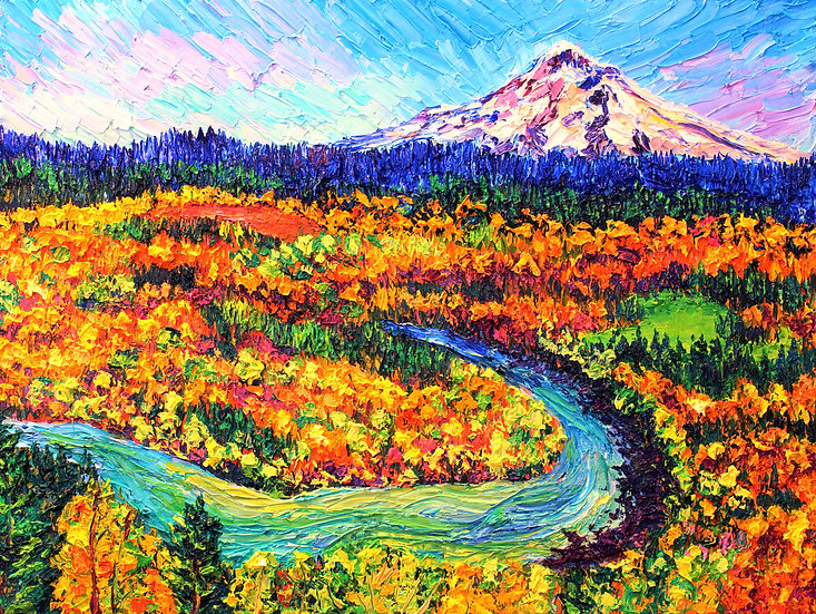 """Josrund Views"" Fine Art Print"