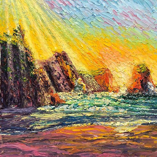"""Crescent Rays"" Fine Art Print"