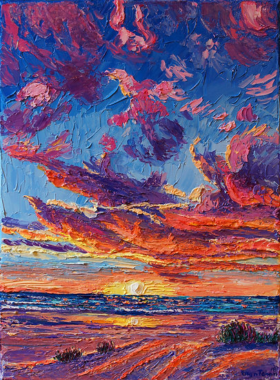 """Manzanita Sunsets"" Original"