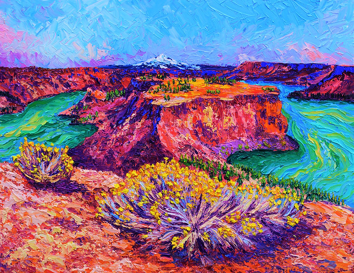 """The Cove Palisades"" Fine Art Print"
