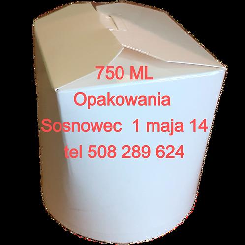 Kubełek papierowy na żywność 750 ml