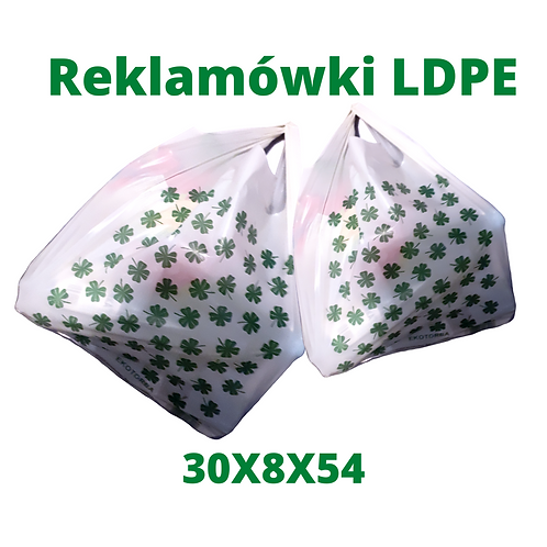 Torba foliowa LDPE 30x8x54 a 50