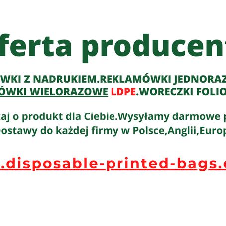 Torby foliowe z nadrukiem Warszawa