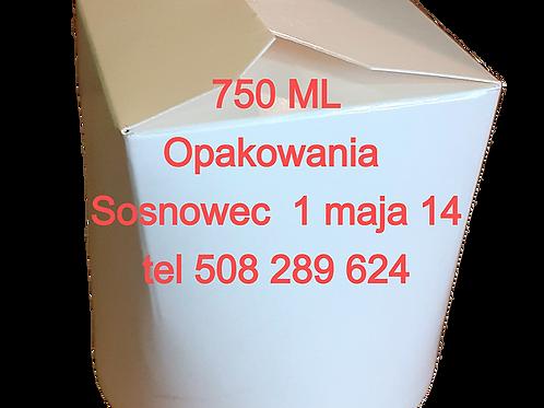 Kubełek papierowy cena netto za 50 szt. Wysyłka lub dostawa do Sosnowca Będzina