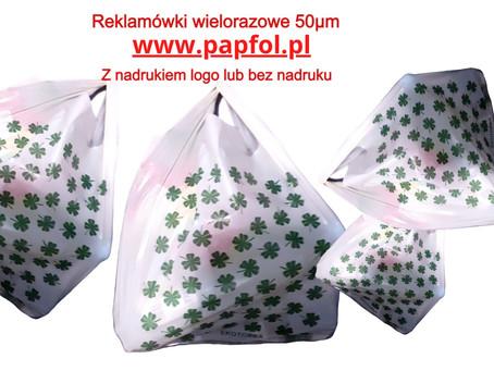 Reklamówki torby powyżej 50 mikron