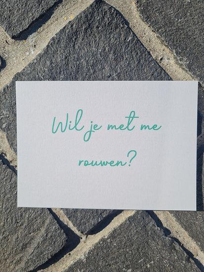 Wenskaart troost: rouwen