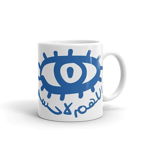 La 7asad - White Glossy Mug - لا حسد