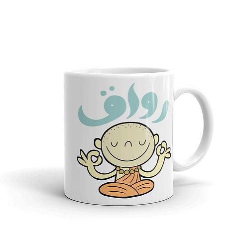 Rawa2 - White Glossy Mug - رواق
