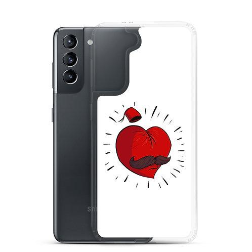 Mustache Love - Samsung Case - حب أبو شنب