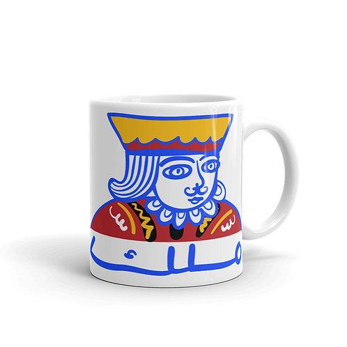 Malik - White Glossy Mug - ملك