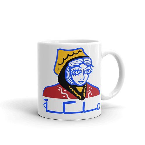 Queen - White Glossy Mug - ملكة