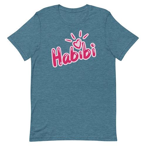 Habibi 1 - Short-Sleeve T-Shirt - حبيبي ١
