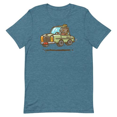 Taxi Lebanon - Short-Sleeve T-Shirt - تكسي لبنان