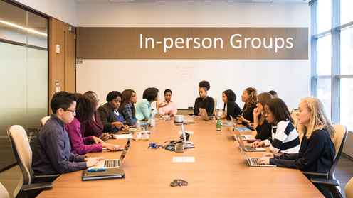In-person group training