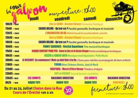 Chalon dans la Rue / Radio Tutti feat Barilla Sisters