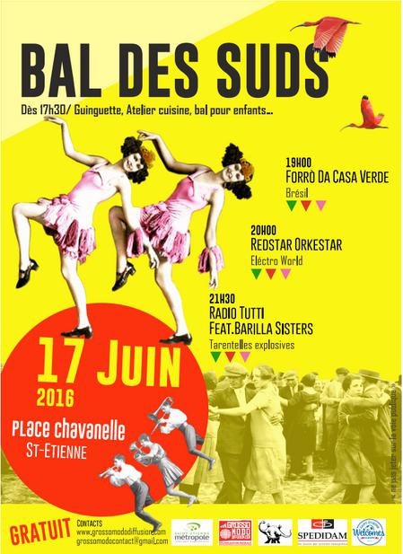 Bal des Suds - Place Chavanelle 17 juin