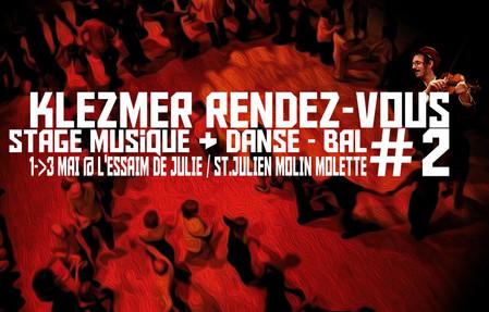 Stage danse & musique klezmer