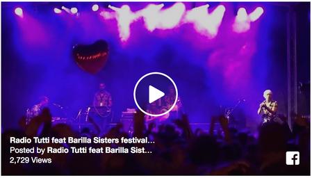 Radio Tutti feat Barilla Sisters / ANGERS 2016