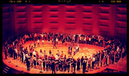 Danse klezmer - Auditorium de Lyon