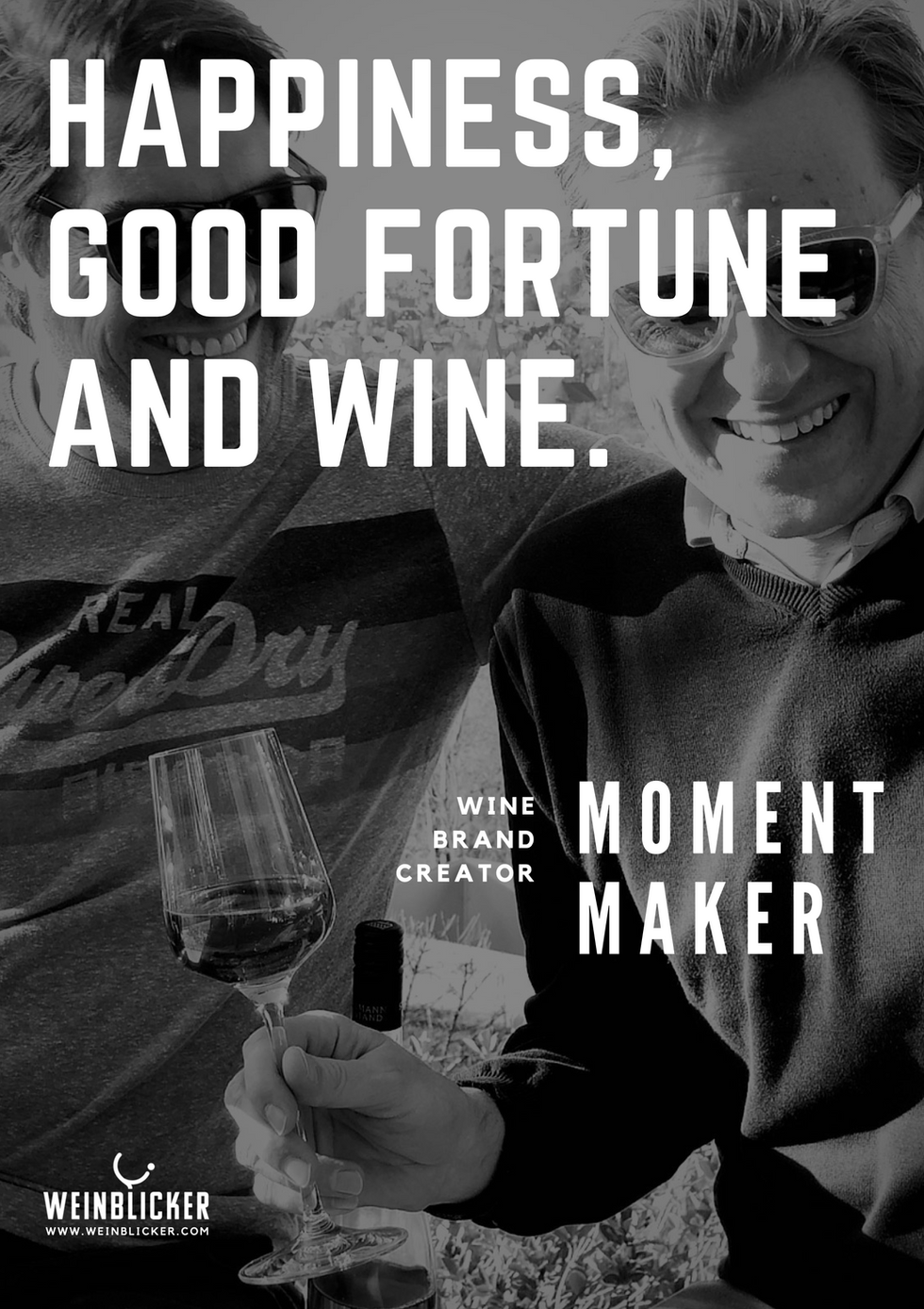 WEINBLICKER_Happiness good fortune and w