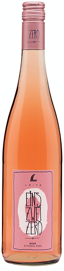 Leitz, Rosé EINS-ZWEI-ZERO, feinherb, alkoholfrei (13,33€ / 1l)