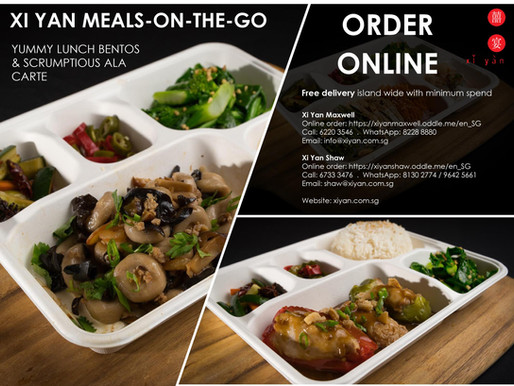 Xi Yan Meals-On-The-Go