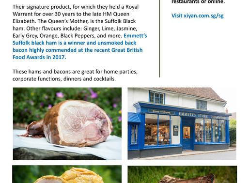 Emmett's Ham UK is now in Singapore!