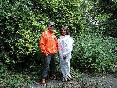 BEE17 Beekeepers Richard Smith and Helen Lerner