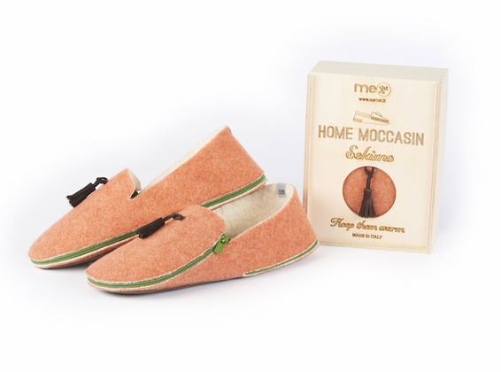 Mocassin orange clair