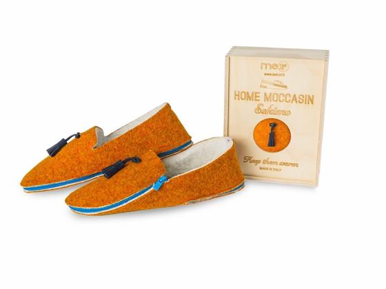 Mocassin orange
