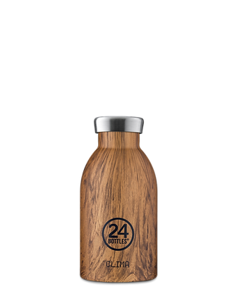 24BOTTLES bouteille isotherme WOOD