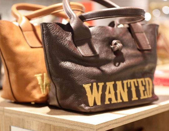 Sac cuir Wanted