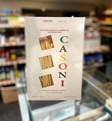 Fettuccine au citron Casoni