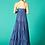 Thumbnail: Robe bleue à bretelle