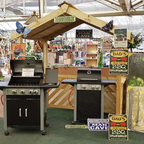 Barbecue's in stock now!
