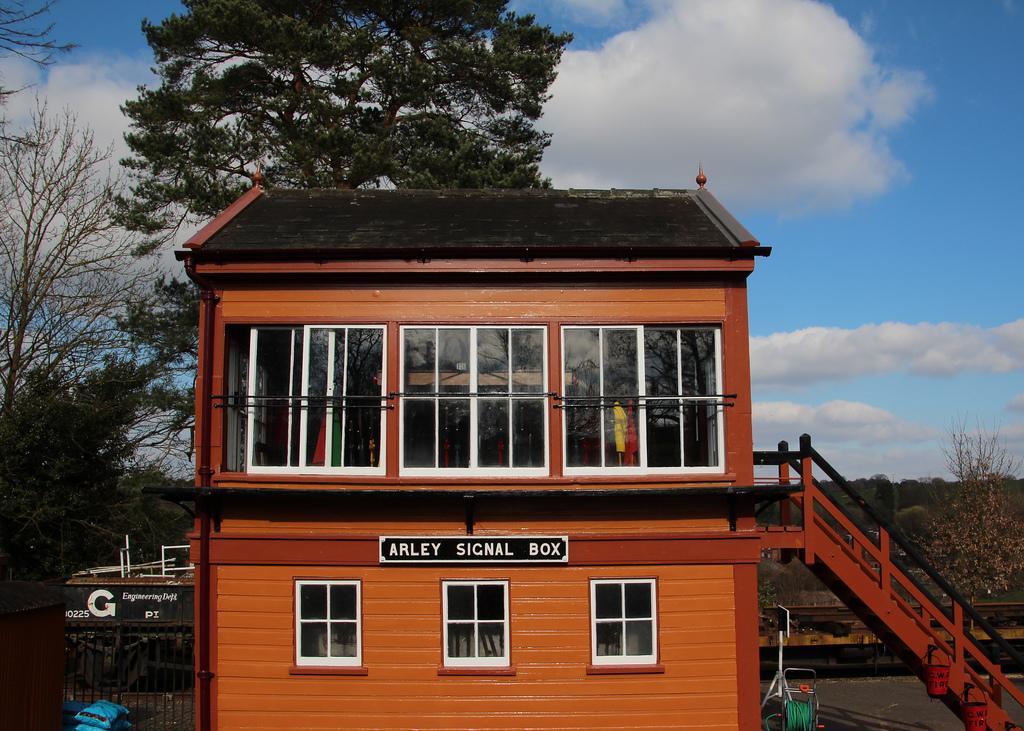 Arley Station Signal Box