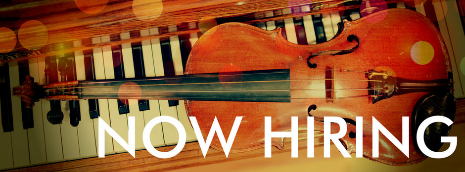 NOW HIRING - Piano & Violin Instructors