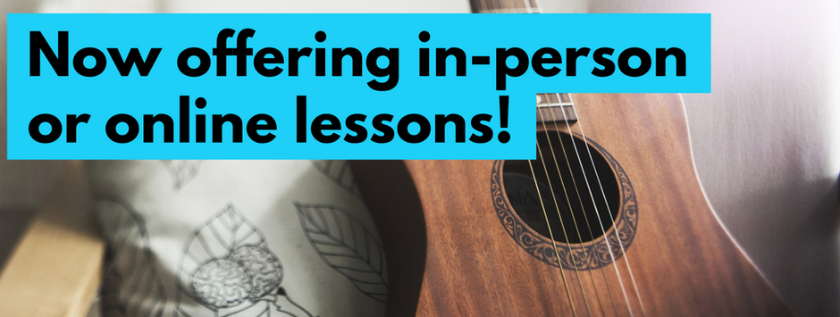 Online or in-person lessons!
