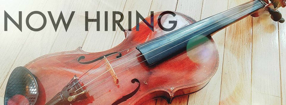 NOW HIRING-Violin Instructor