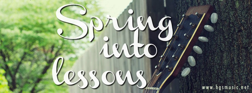 Spring into Lessons!