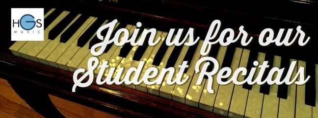 Highland's Student Recital: Piano and Vocals