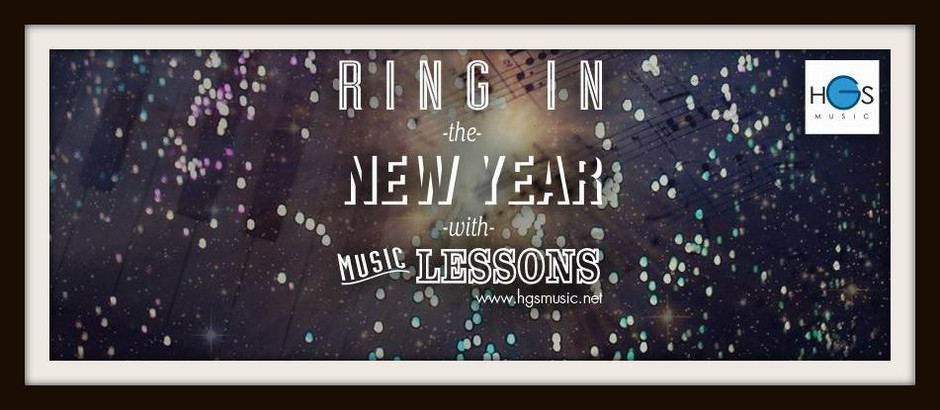 Ring in the New Year with Music Lessons!