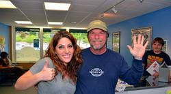Jodi, Manager & Dennis, Owner