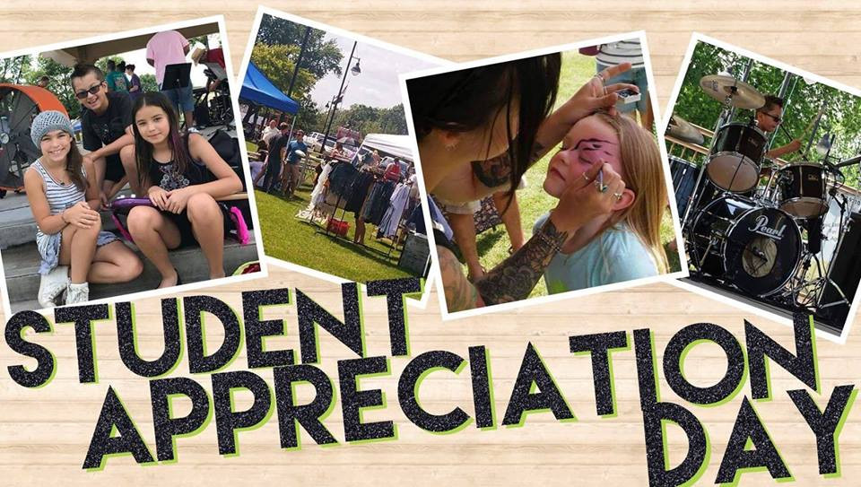 Student Appreciation Day! Save the Date