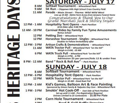Heritage Days 2021 Events