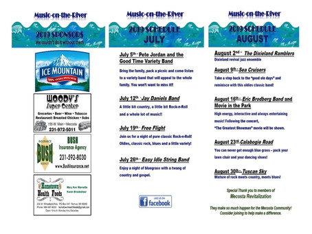 Music on the River – 2019