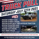 Heritage Days Truck & Tractor Pull- July 17th, 2021